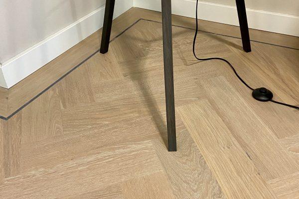 Interieur met vloer